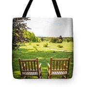 Summer Relaxing Tote Bag