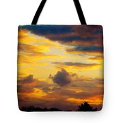 Sunset Sky By Artist Nature Tote Bag