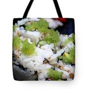 Sushi California Roll Tote Bag