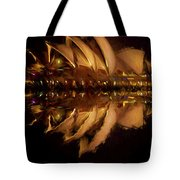 Sydney Opera House Abstract Tote Bag