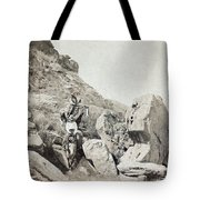 Texas Cowboys, C1908 Tote Bag