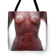 The Digestive System Female Tote Bag