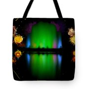 The Electric Fountain Tote Bag
