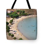 The Famous Psili Ammos Beach Tote Bag