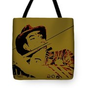 The Jazz Flutist Tote Bag