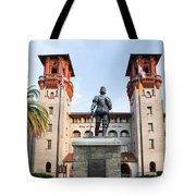 The Lightner Museum Formerly The Hotel Alcazar St. Augustine Florida Tote Bag