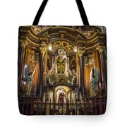 The Monastery Of San Francisco -  Lima Peru Tote Bag