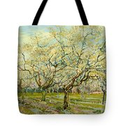 The White Orchard Tote Bag