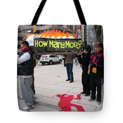Tibetan Protest March Tote Bag