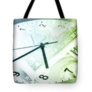 Time Is Money Tote Bag by Les Cunliffe
