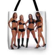 4 Times The Attitude Tote Bag
