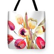 Tulips Flowers Tote Bag