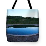Up And Under Tote Bag
