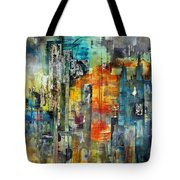 Urban View Tote Bag by Katie Black