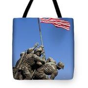 Us Marine Corps Memorial Tote Bag