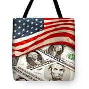 Usa Finance Tote Bag