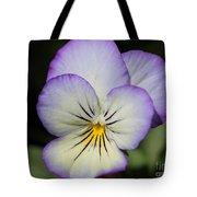 Viola Named Sorbet Lemon Blueberry Swirl Tote Bag