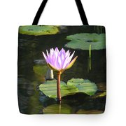 Pond Of Water Lily Tote Bag