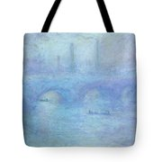 Waterloo Bridge Tote Bag