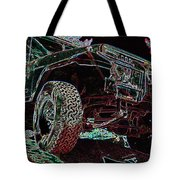 4 Wheelin Tote Bag