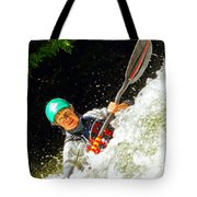 Whitewater Kayak Tote Bag