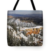 Winter Scene, Bryce Canyon National Park Tote Bag