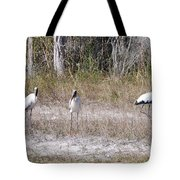 Wood Storks Tote Bag