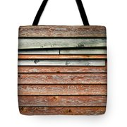 Wooden Panels Tote Bag