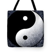 Yin And Yang 2 Tote Bag
