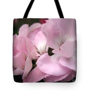 Zonal Geranium Named Tango Light Orchid Tote Bag