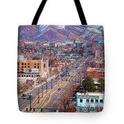 400 S Salt Lake City Tote Bag