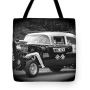 409 Cu Inches Black And White Tote Bag