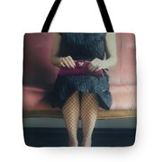 40s Lady Tote Bag by Joana Kruse