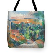 The Bend In The Road Tote Bag