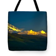 41010-91 A Mt Hood Sunset Tote Bag