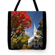 Lunenburg, Ma - Fall Foliage Tote Bag
