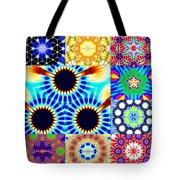 432hz Cymatics Grid Tote Bag