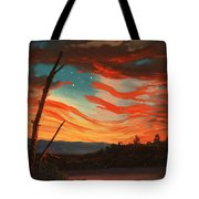Our Banner On The Sky Tote Bag