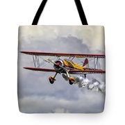 450 Hp Stearman Tote Bag