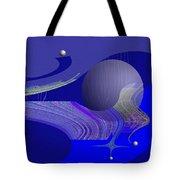 463 - City Of Future 4   Tote Bag