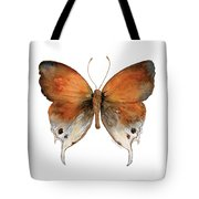 47 Mantoides Gama Butterfly Tote Bag by Amy Kirkpatrick