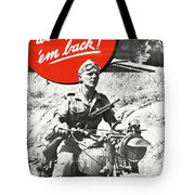 Wwii Poster, C1943 Tote Bag