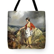 Girl With A Pitcher Tote Bag