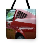 Classic Mustang Tote Bag