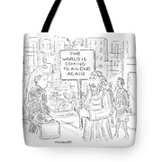 New Yorker October 31st, 2005 Tote Bag