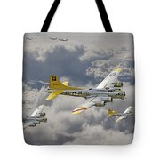 487th Bomb Group Tote Bag