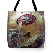 49ers Art Tote Bag