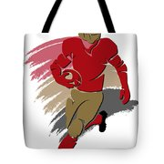 49ers Shadow Player2 Tote Bag