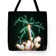 4th Of July 2014 Fireworks Bridgeport Hill Clarksburg Wv 2 Tote Bag by Howard Tenke