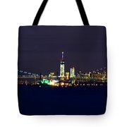 4th Of July New York City Tote Bag by Raymond Salani III